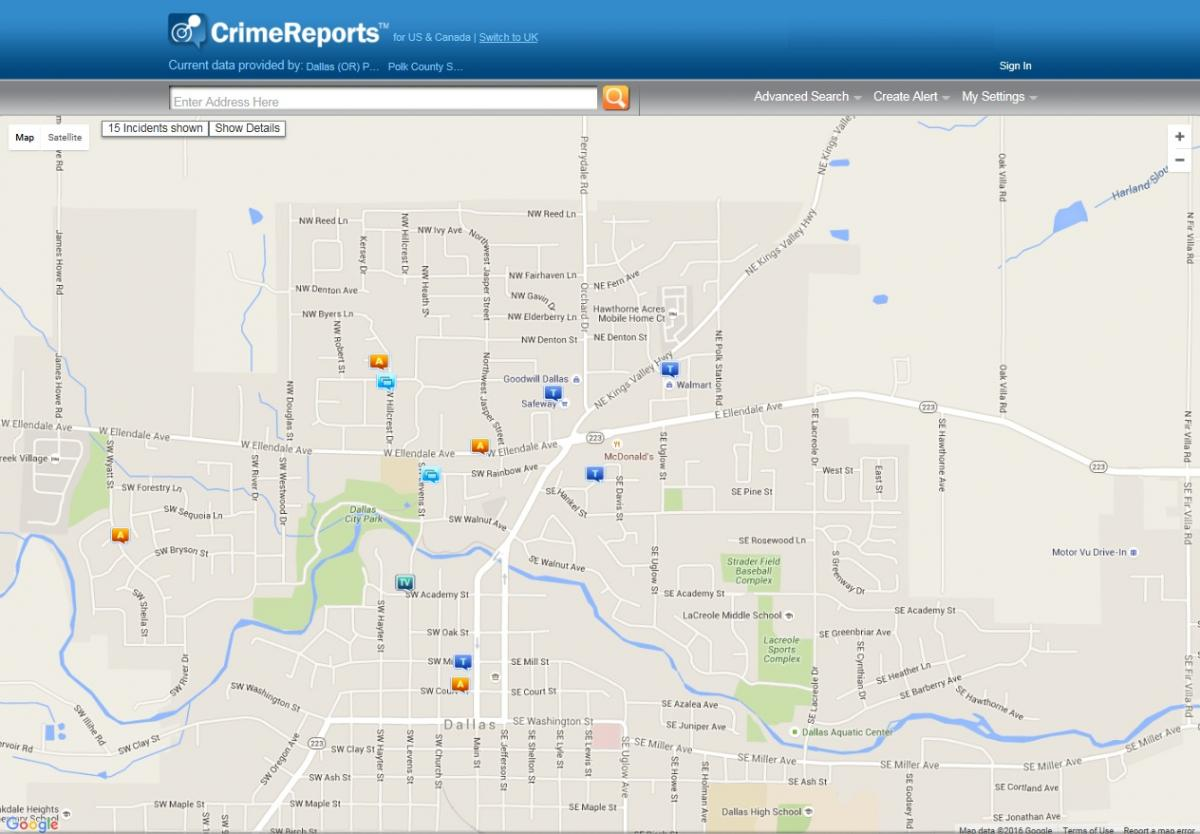 Crime Reports | Polk County Oregon Official Website